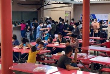 Llegan a San Pedro Sula 148 migrantes retornados de Estados Unidos
