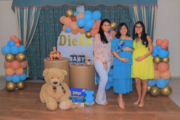 Un adorable baby shower para darle la bienvenida al pequeño Diego