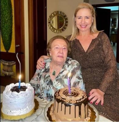 Cumpleaños de Baerta Fiszman con su hija Lisa