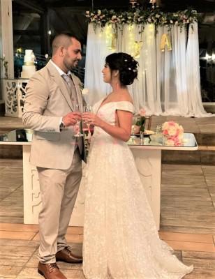 Melvin Israel Montoya y Anabel Nuñez