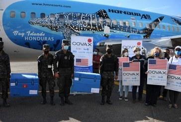 Estados Unidos realiza nueva donación a Honduras de 250,000 dosis de vacunas Moderna contra COVID-19