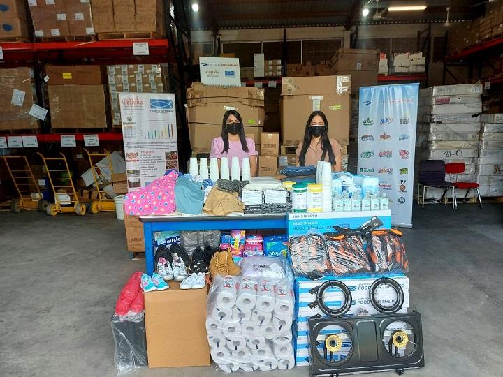 Grupo Jaremar se solidariza con personas afectadas por el incendio ocurrido en Guanaja