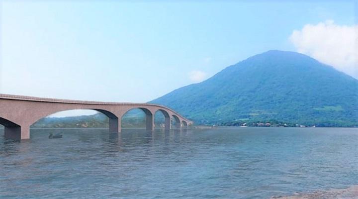 Aprueban plan de paz y desarrollo del Golfo de Fonseca que incluye puente de Amapala con tierra firme